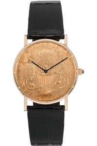 Twenty Dollar Coin Yellow Gold Automatic