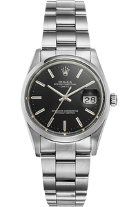 Date Circa 1982 Stainless Steel Automatic