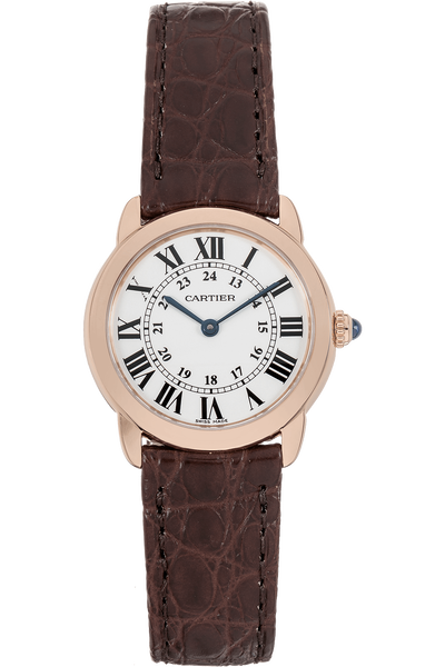 Ronde Solo Rose Gold and Stainless Steel Quartz