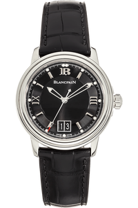 Leman Ultra Slim Stainless Steel Automatic