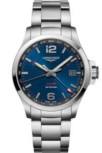 Conquest V.H.P. GMT 43mm Stainless Steel