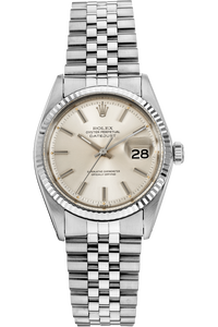 Datejust Circa 1971 White Gold and Stainless Steel Automatic