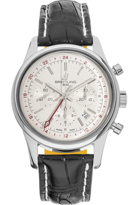Transocean GMT Chronograph Limited Edition Stainless Steel Automatic