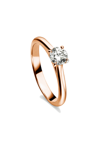 Joy Solitaire in 18K Rose Gold
