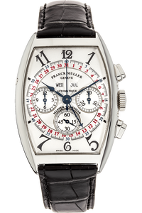 Master Calendar Magnum Chronograph Stainless Steel Automatic