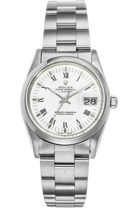 Date Circa 1986 Stainless Steel Automatic