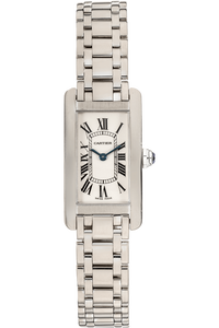 Tank Americaine White Gold Quartz