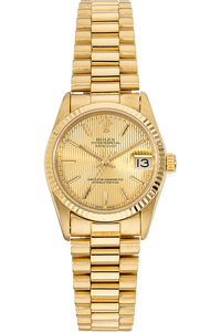 Datejust Circa 1980's Yellow Gold Automatic