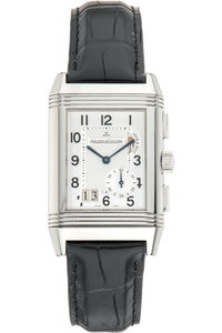 Reverso Grande GMT  Stainless Steel Manual