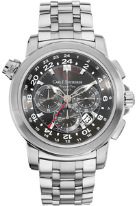 Patravi Traveltec GMT Stainless Steel Automatic
