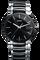 Centrix Large Quartz Black Dial