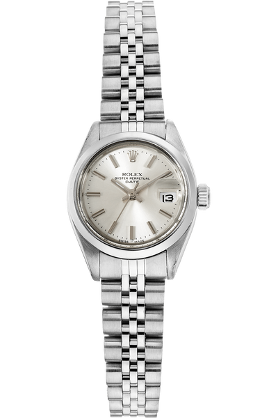 Date Circa 1980's Stainless Steel Automatic