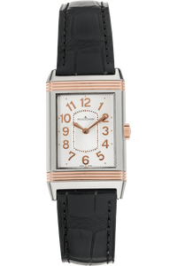 Grande Reverso Lady Rose Gold and Stainless Steel Quartz