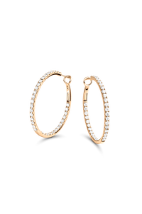 Ear Pins in 18K Rose Gold