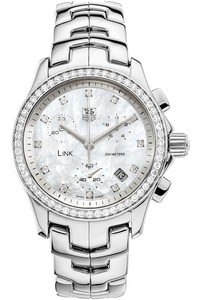 Link Chronograph Stainless Steel Quartz