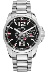 Mille Miglia Gran Turismo XL GMT Stainless Steel Automatic