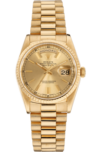Day-Date Circa 1989 Yellow Gold Automatic