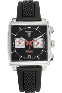 Monaco Calibre 12 Chronograph Stainless Steel Automatic