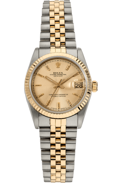 Datejust Circa 1983 Yellow Gold and Stainless Steel Automatic