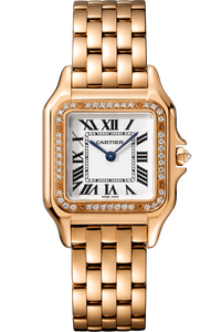 Panthère de Cartier Medium Rose Gold with Diamonds