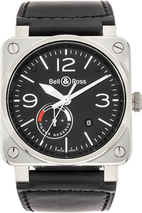 BR 03-97 Reserve de Marche Stainless Steel Automatic