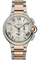 Ballon Bleu Chronograph Rose Gold and Stainless Steel Automatic