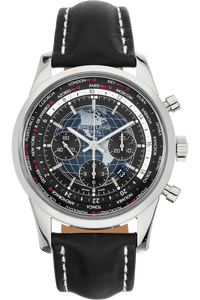 Transocean Unitime Chronograph Stainless Steel Automatic