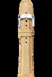 18MM Honey Gold Snakeskin Strap
