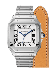 Santos de Cartier Steel, Medium