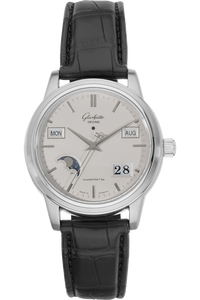 Senator Perpetual Calendar Stainless Steel Automatic