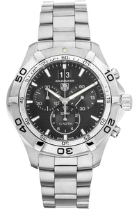 Aquaracer Grande Date Chronograph Stainless Steel Quartz