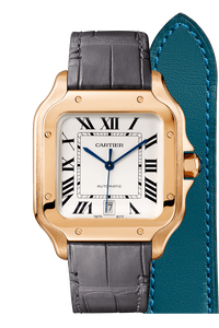 Santos de Cartier Pink Gold, Large