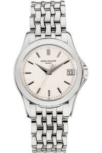 Calatrava Reference 5107 White Gold Automatic