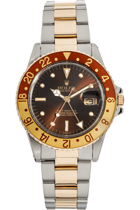 GMT-Master Circa 1980's Yellow Gold and Stainless Steel Automatic
