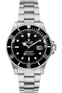 Submariner Swiss Dial Lug Holes Stainless Steel Automatic