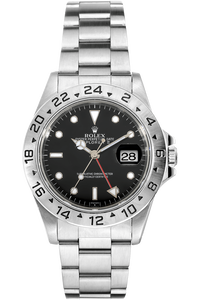 Explorer II Swiss Dial Lug Holes Stainless Steel Automatic