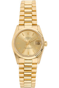 Datejust Circa 1987 Yellow Gold Automatic