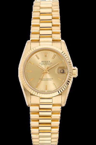 Datejust Circa 1987 Yellow Gold Automatic