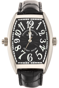 Cintree Curvex Secret Hours White Gold Automatic