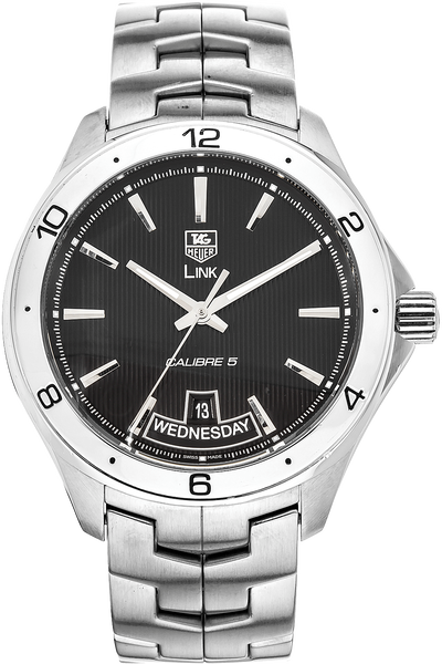 Link Calibre 5 Day-Date Stainless Steel Automatic