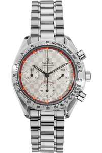 Speedmaster Reduced Michael Schumacher Limited Edition Stainless Steel Automatic