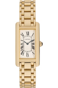 Tank Americaine Yellow Gold Quartz