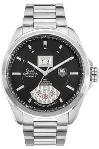 Grand Carrera Calibre 8 GMT Stainless Steel Automatic
