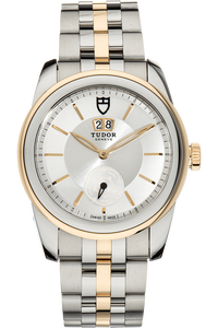 Glamour Double Date Yellow Gold and Stainless Steel Automatic