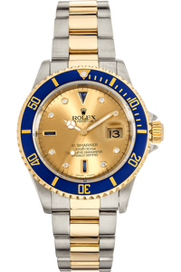 Submariner Yellow Gold and Stainless Steel Automatic