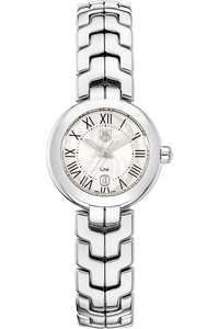 Link Lady Stainless Steel Quartz