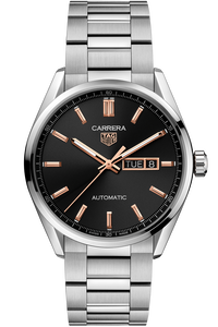 Carrera Calibre 5 Automatic Black Steel Watch