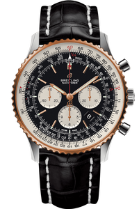 Navitimer 1 B01 Chronograph 46 Steel & Red Gold