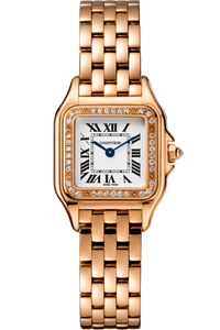 Panthère de Cartier Small Rose Gold with Diamonds