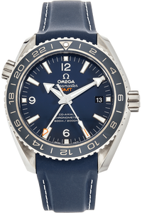 Seamaster Planet Ocean Co-Axial GMT Titanium Automatic